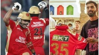 PBKS Wearing Old RCB Jersey During IPL 2021 Match vs RR? Fans React